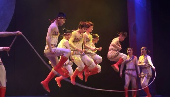 Chinese State Circus performing at the INEC Killarney.