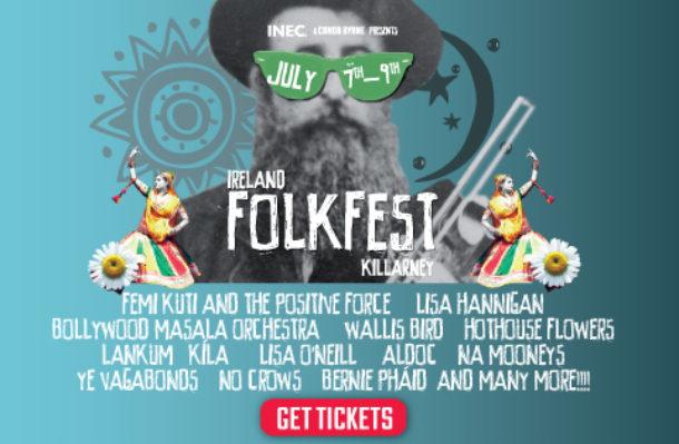 Folkfest Killarney Weekend Ticket - 7/07/17
