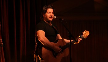 Brian Kennedy performing at the INEC Acoustic Club