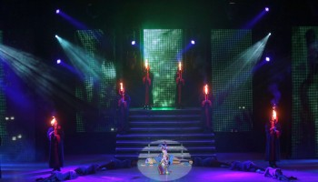 Lord of the Dance performing at the INEC Killarney