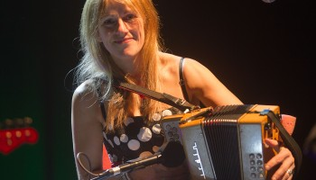 Sharon Shannon performing New Years INEC Killarney 2010