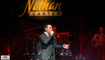 Nathan Carter performing at the INEC Killarney