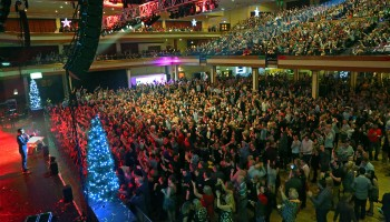 Nathan Carter ringing in 2015 at the INEC Killarney