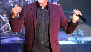 Tom Jones performs at the INEC Killarney