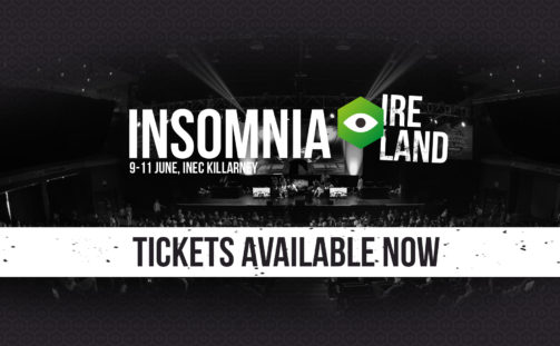 Insomnia Gaming Ireland returns to the INEC Killarney –  9-11 June 2017