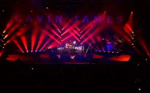 INEC Killarney's New Lighting Rig Goes Live on Gavin James with A.C. Entertainment Technologies' support