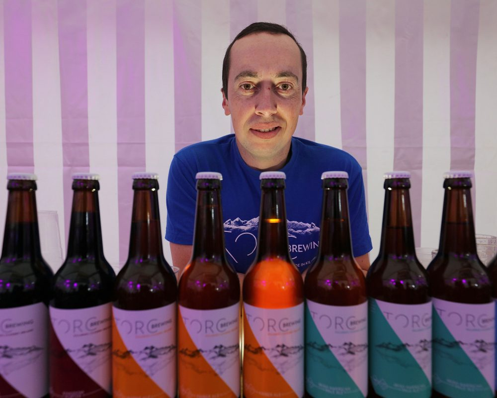 Master Brewer John Keane, Torc Brewing,at the Killarney Beerfest, at the INEC Killarney , with the best of Irish Craft Brewers, The weekend included beer tasting master classes, food village and live entertainment.