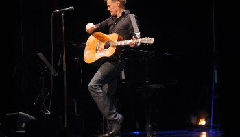 Bryan Adams performing at the INEC Killarney