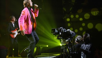 Cliff Richard performing in The INEC, Killarney,