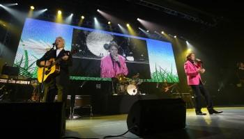 Cliff Richard performing in The INEC, Killarney,