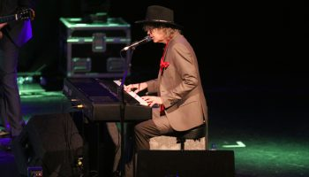 Mike Scott, lead with the Waterboys, performing in Concert at the Folkfest Killarney