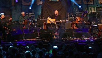 Christy Moore, in Concert during Folkfest Killarney at the INEC Killarney