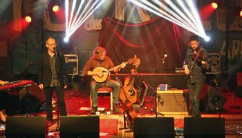 Iarla Ó Lionáird and in concert during Folkest Killarney at the INEC, Killarney