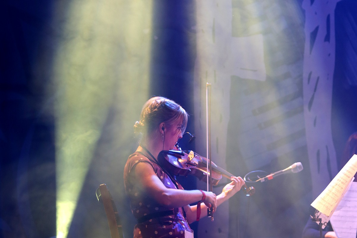 The Unthanks who performed at Glastonbury this year, performing at Folkfest Killarney at the INEC, Killarney