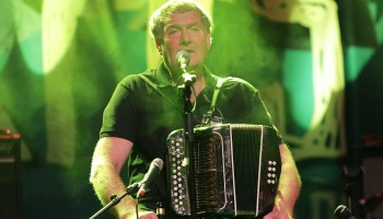 Seamus Begley, performing at the Folkfest Killarney at the INEC, Killarney