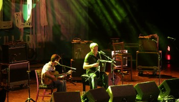 Seamus Begley, Jim Murray, performing at the Ireland Folkfest Killarney, at the INEC, Killarney