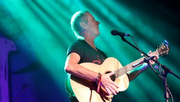 Luka Bloom performing at the Folkfest Killarney at the INEC Killarney