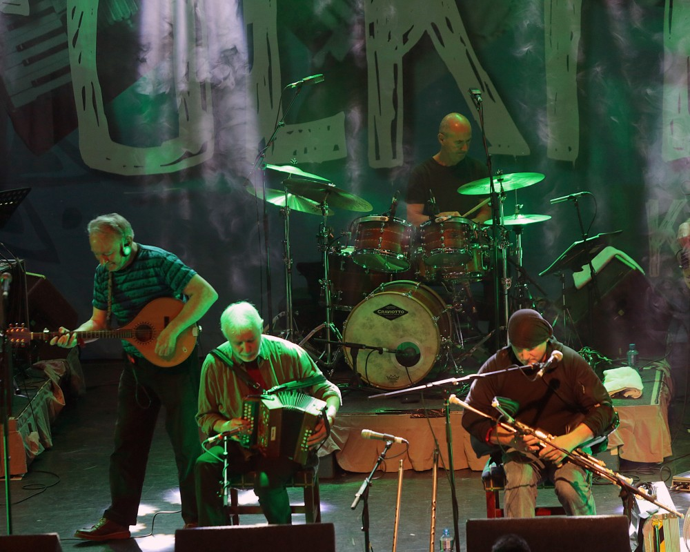 Moving Hearts reunitied for a special performance at Folkfest Killarney which took placeat the INEC, Killarney