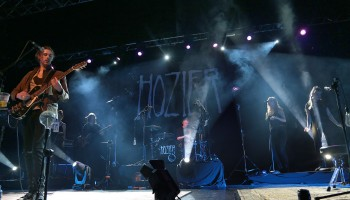 Hozier performing at the INEC, Killarney