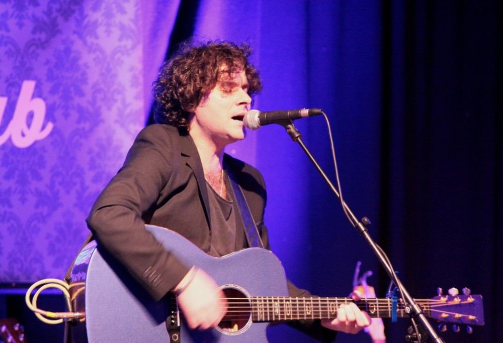 Paddy Casey performing at the INEC Acoustic Club, Killarney