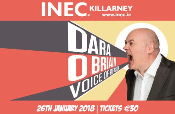 Dara O'Briain 26th January