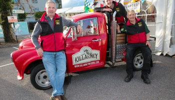 Killarney Beerfest 2015 which took place at the INEC Killarney and the weekend included beer tasting master classes, awards, competitions, food village and live entertainment.