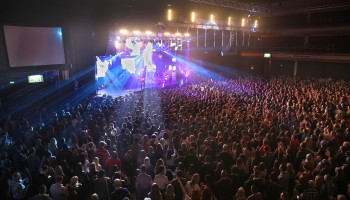 Kodaline performing at the INEC KIllarney