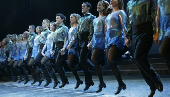 Riverdance performing at the INEC Killarney