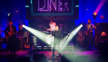 Shane Filan performing at the INEC Killarney