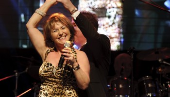 Gina, Dale Haze & The Champions - Best Live Pop Act at the South of Ireland Country Music Awards at the INEC KIllarney