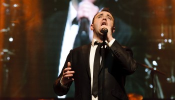 Patrick Feeney - Best Male Covalist at the South of Ireland Country Music Awards at the INEC KIllarney