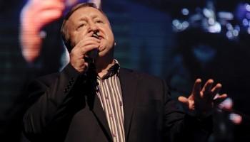 Paddy O' Brien performing at the South of Ireland Country Music Awards at the INEC KIllarney