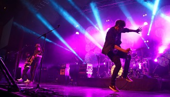 Walking on Cars performing at the INEC Killarney