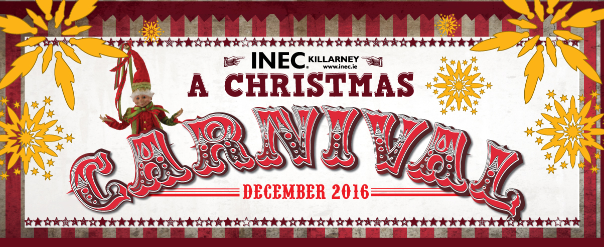 Christmas Carnival Poster.Christmas Carnival At The Inec Killarney This December