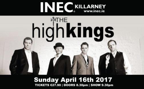 High Kings make a return on Easter Sunday, April 16th 2017