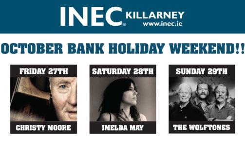 Stellar line up at the INEC, Killarney this October Bank Holiday