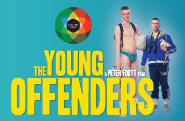 The Young Offenders screening for Culture Night 2017