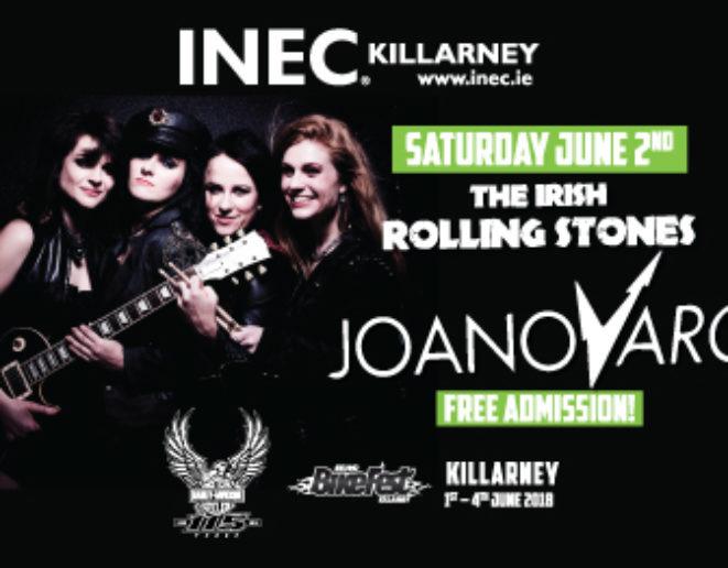 Joan Of Arc & The Irish Rolling Stones – 2/06/18