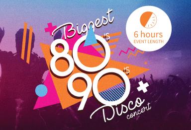 Biggest 80s-90s Disco