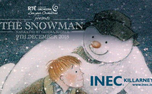 This December the hugely popular Christmas show The Snowman comes to the INEC Killarney performed by the RTÉ Concert Orchestra and narrated by Gemma Sugrue