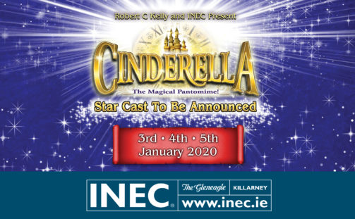 This Christmas you shall go to the ball with the spectacular rags to riches family pantomime Cinderella at the INEC Killarney.